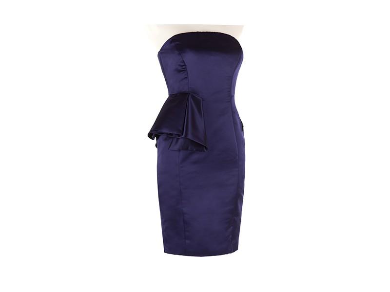 ZARA sukienka z baskinką