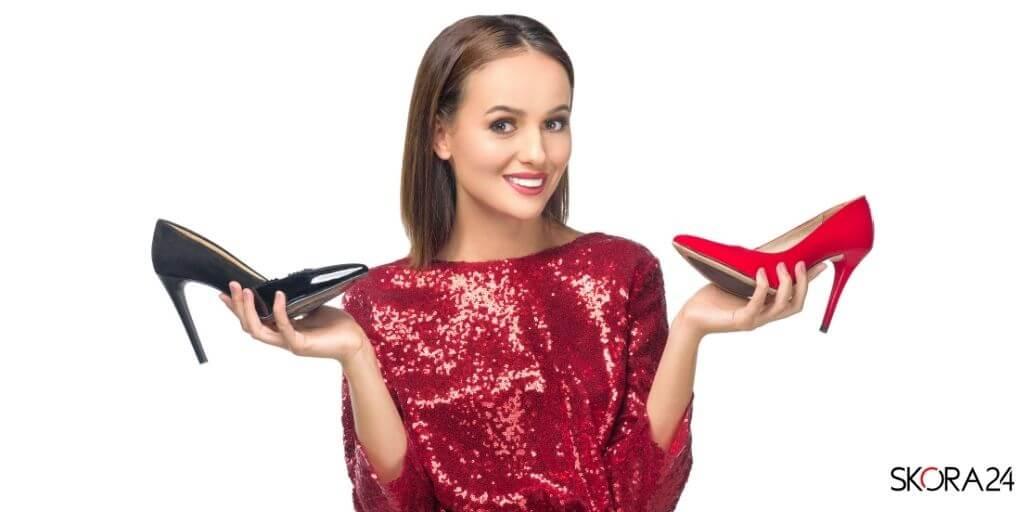 czerwona-sukienka-buty