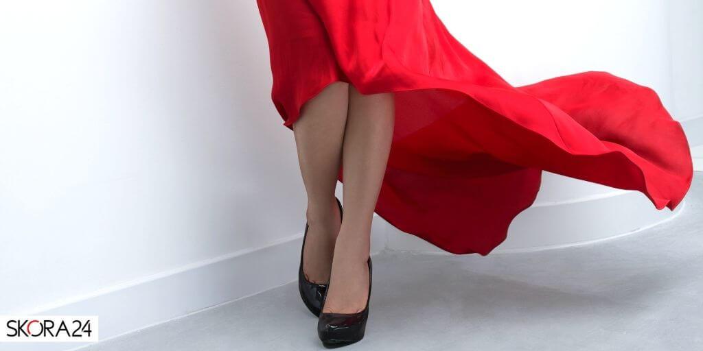 czerwona-sukienka-szpilki